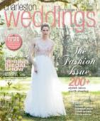 Charleston Weddings - White on Daniel Island Bridal Shop magazine cover